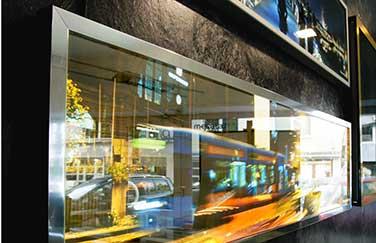megalab picturelight leuchtende wandbilder mit ihren motiven. Black Bedroom Furniture Sets. Home Design Ideas